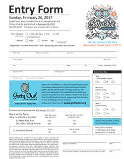 PDF registration form